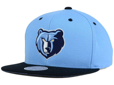Memphis Grizzlies Mitchell and Ness NBA Split Under Snapback Hat