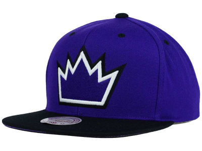 Sacramento Kings Mitchell and Ness NBA Split Under Snapback Hat