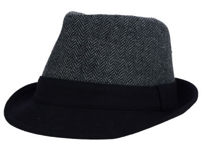 LIDS Private Label PL Herringbone Wool Fedora