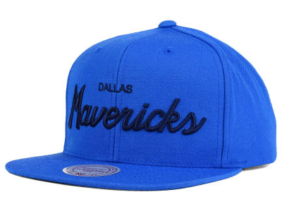 Dallas Mavericks Mitchell and Ness NBA Classic Strapback Cap