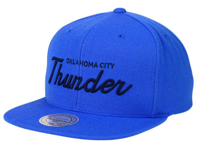 Oklahoma City Thunder Mitchell and Ness NBA Classic Strapback Cap