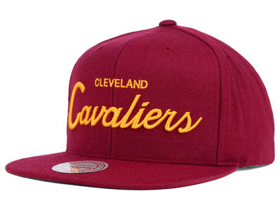 Cleveland Cavaliers Mitchell and Ness NBA Classic Strapback Cap