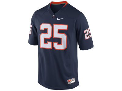 Virginia Cavaliers #25 Nike NCAA Replica Football Game Jersey