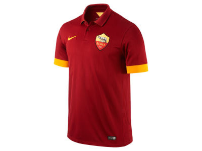 AS Roma Nike Club Soccer Team Men's Home Stadium Jersey