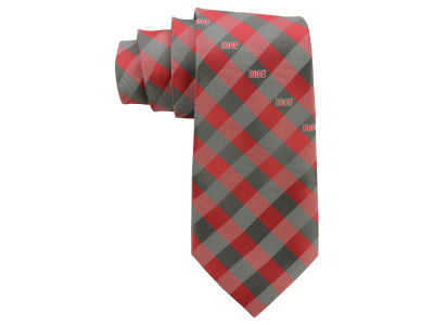 Tampa Bay Buccaneers Polyester Checked Tie