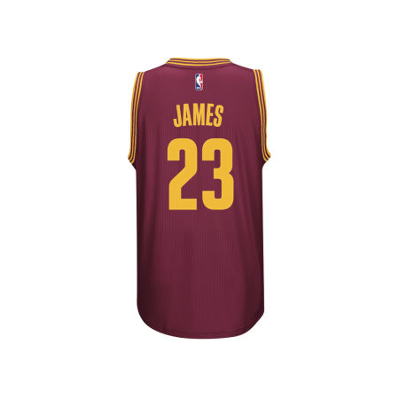 Cleveland Cavaliers LeBron James Adidas NBA Men's New Swingman Jersey
