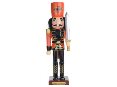 Oklahoma State Cowboys Team Nutcracker