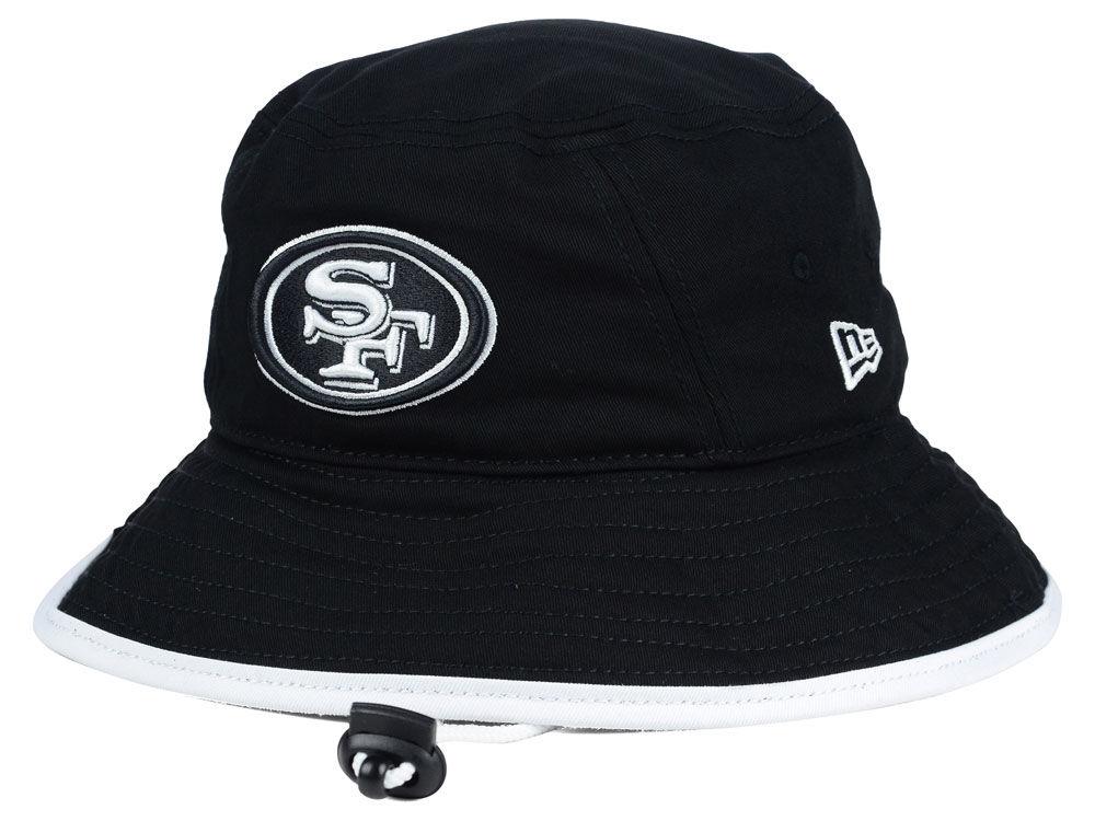 San Francisco 49ers New Era NFL Black White Bucket  a84337a885d