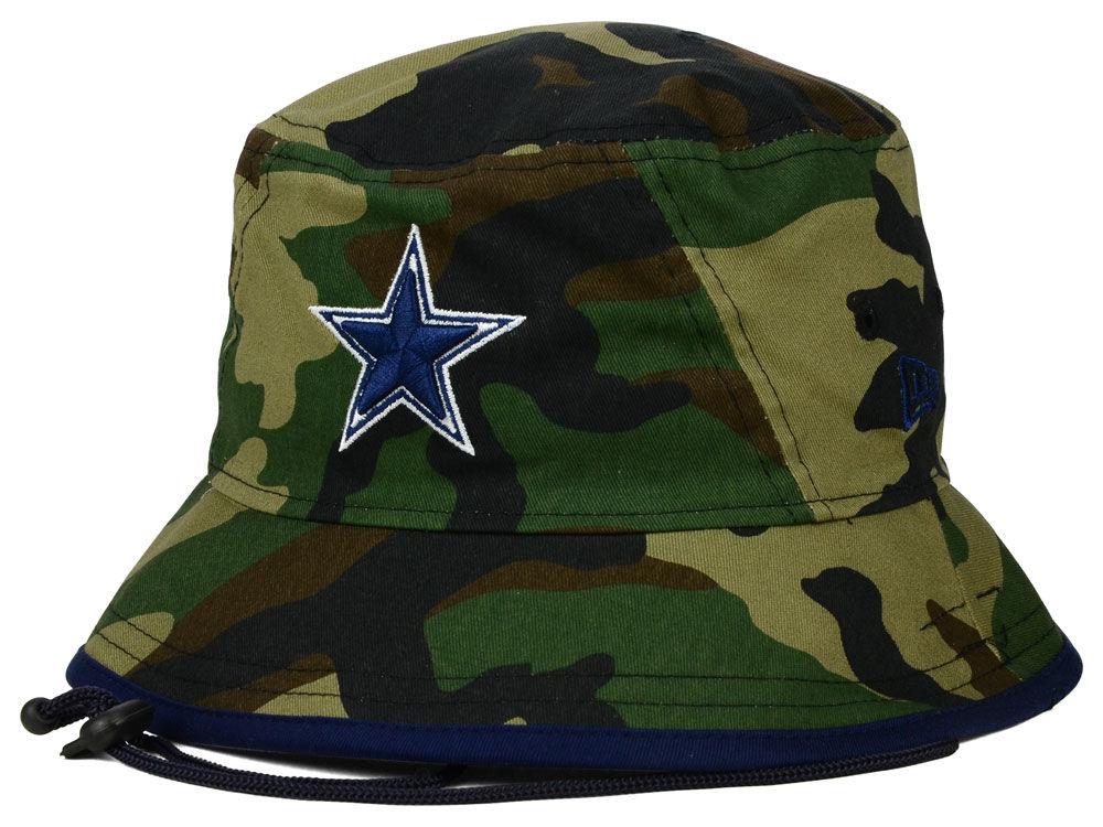 Dallas Cowboys New Era NFL Camo Pop Bucket  2f39f63d4