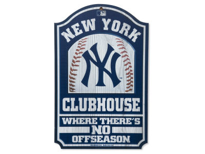 New York Yankees 11x17 Wood Sign