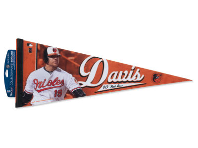 Baltimore Orioles Chris Davis 12x30 Premium Player Pennant