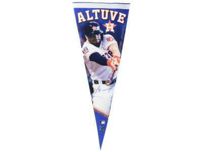 Houston Astros José Altuve 12x30 Premium Player Pennant