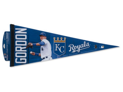 Kansas City Royals Alex Gordon 12x30 Premium Player Pennant