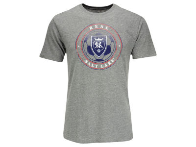 Real Salt Lake adidas MLS Men's Telstar Seal Triblend T-Shirt