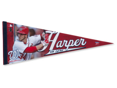 Washington Nationals Bryce Harper 12x30 Premium Player Pennant