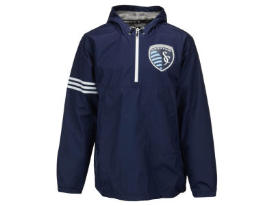 Sporting Kansas City adidas MLS Men's Evolution Lightweight Jacket
