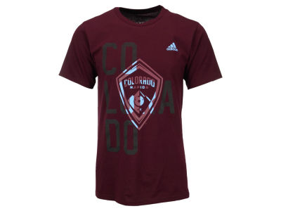 Colorado Rapids adidas MLS Men's Shine Through T-Shirt