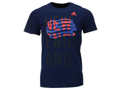 New England Revolution adidas MLS Men's Shine Through T-Shirt