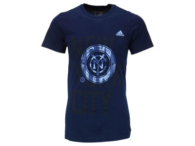New York City FC adidas MLS Men's Shine Through T-Shirt