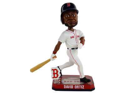 Boston Red Sox David Ortiz Springy Logo Bobble