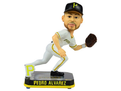 Pittsburgh Pirates Pedro Alvarez Springy Logo Bobble