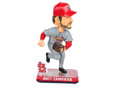 St. Louis Cardinals Matt Carpenter Springy Logo Bobble