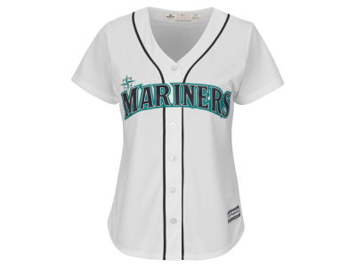 Seattle Mariners Majestic MLB Women's Cool Base Jersey