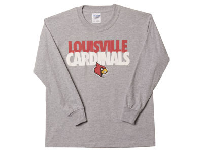 Louisville Cardinals NCAA Youth 2Tone Long Sleeve T-Shirt