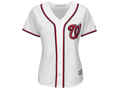 Washington Nationals Majestic MLB Women's Cool Base Jersey