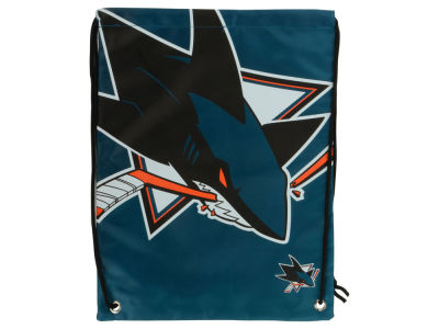 San Jose Sharks Big Logo Drawstring Backpack