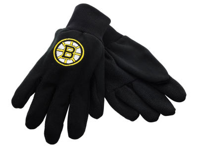 Boston Bruins Solid Utility Gloves