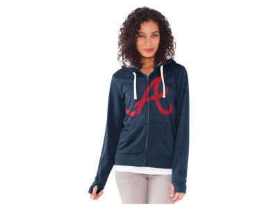 Atlanta Braves MLB Women's All Star Zip Up Hoodie