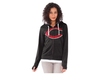 Cincinnati Reds MLB Women's All Star Zip Up Hoodie