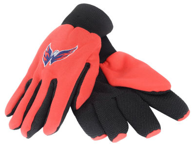 Washington Capitals Solid Utility Gloves