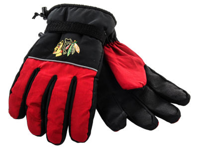 Chicago Blackhawks Insulated Gloves