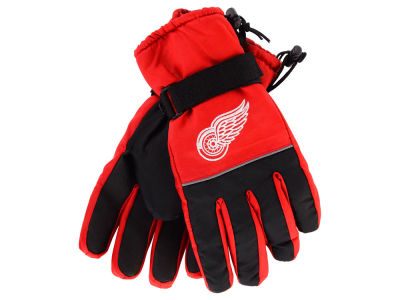 Detroit Red Wings Insulated Gloves