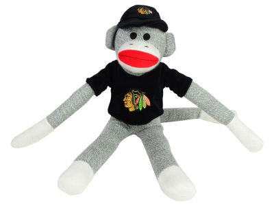 Chicago Blackhawks Sock Monkey