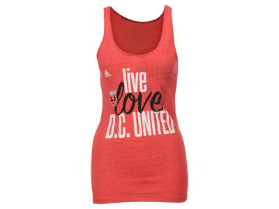 DC United adidas MLS Women's Live Love Team Tank