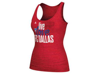 FC Dallas adidas MLS Women's Live Love Team Tank