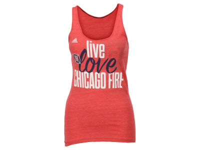 Chicago Fire adidas MLS Women's Live Love Team Tank