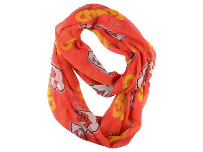 Kansas City Chiefs Sheer Infinity Scarf