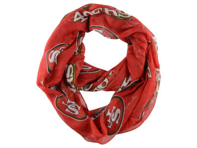 San Francisco 49ers Sheer Infinity Scarf