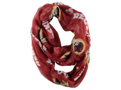 Washington Redskins Sheer Infinity Scarf