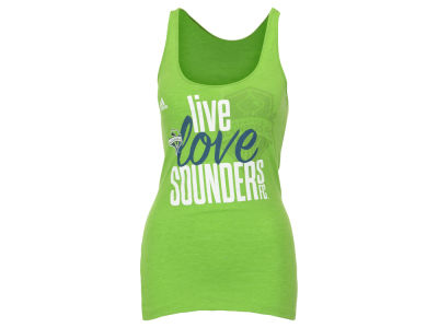Seattle Sounders FC adidas MLS Women's Live Love Team Tank