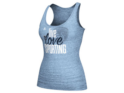 Sporting Kansas City adidas MLS Women's Live Love Team Tank