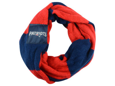 New England Patriots Color Block Infinity Scarf
