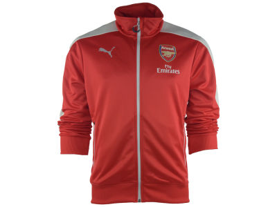 Arsenal FC Puma Club Soccer Men's Team Anthem Zip Up Jacket