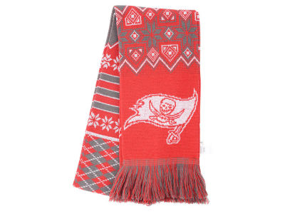 Tampa Bay Buccaneers Ugly Sweater Acrylic Scarf