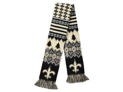 New Orleans Saints Ugly Sweater Acrylic Scarf