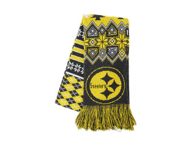 Pittsburgh Steelers Ugly Sweater Acrylic Scarf